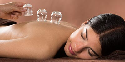 dry cupping massage